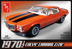 AMT 1970 1/2 Chevy Camaro Z/28 1:25 Scale Model Kit