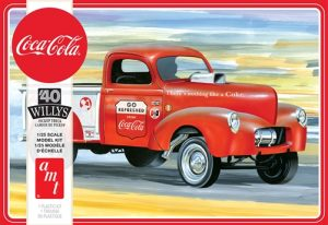 AMT 1940 Willys Pickup Gasser (Coca-Cola) 1:25 Scale Model Kit