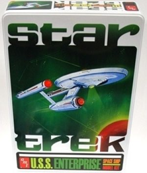 AMT Classic Enterprise - Second Edition Tin MK Scale Model Kit