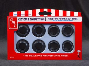 AMT Firestone Drag 500 Tire Set 1:25 Scale
