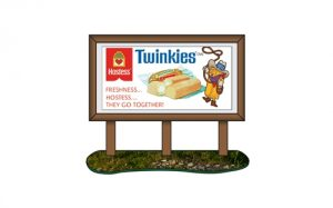 Classic Metal Works 1950's Country Billboard (Hostess) 1:87 HO Scale