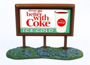 Classic Metal Works 1960's Country Billboard (Coca Cola) 1:160 N-scale