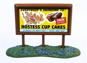 Classic Metal Works 1950's Country Billboard (Hostess) 1:160 N-scale