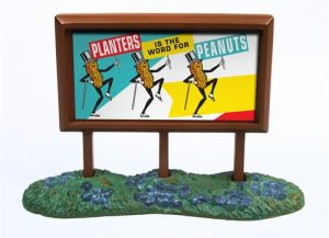 Classic Metal Works 1950's Country Billboard (Planters Peanuts) 1:160 N-scale