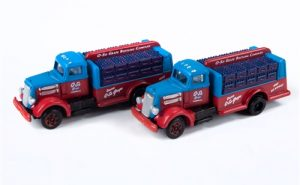 Classic Metal Works White WC Bottle Truck (O-So Grape) 2-Pack 1:160 N Scale