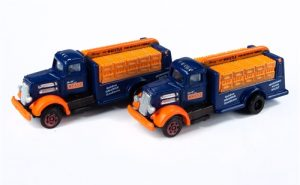 Classic Metal Works White WC Bottle Truck (Whistle) 2-Pack 1:160 N Scale