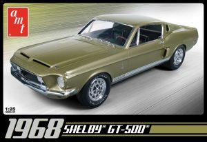 AMT 1968 Shelby GT 500 1:25 Scale Model Kit