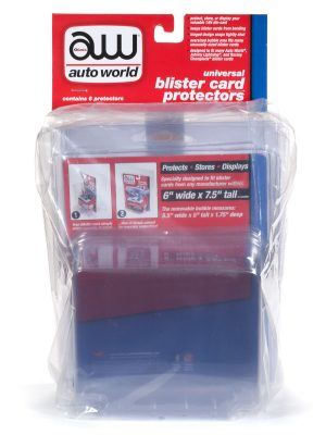 Auto World Blister Card Protector 6-Pack