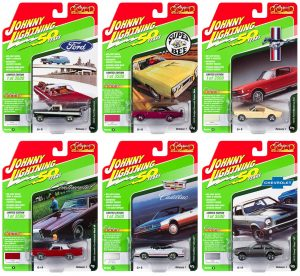 Johnny Lightning Classic Gold 2019 Release 1 - Set B