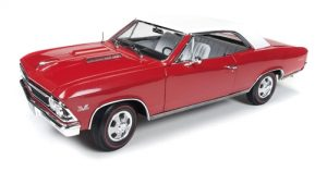 American Muscle 1966 Chevrolet Chevelle SS (Christmas Edition #1 1:18 Scale Die-Cast