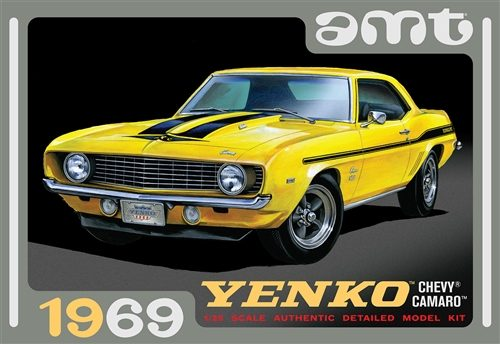 AMT 1969 Chevy Camaro (Yenko) 1:25 Scale Model Kit