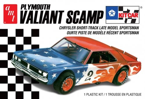 AMT Plymouth Valiant Scamp Kit Car 1:25 Scale Model Kit