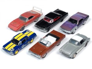 Johnny Lightning Muscle Cars USA 2019 Release 2 Set A (6-Car Sealed Case) 1:64 Diecast