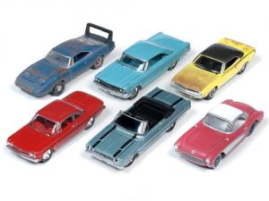 Johnny Lightning Muscle Cars USA 2019 Release 2 Set B (6-Car Sealed Case) 1:64 Diecast