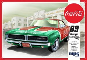 MPC 1969 Dodge Charger RT (Coca Cola) 1:25 Scale Snap Kit