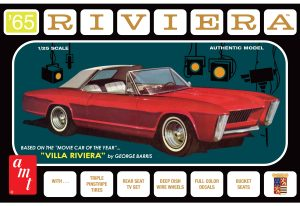 AMT 1965 Buick Riviera (George Barris) 1:25 Scale Model Kit