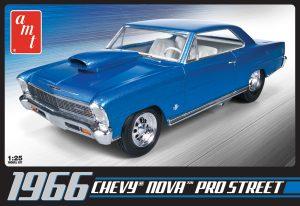 AMT 1966 Chevy Nova Pro Street 1:25 Scale Model Kit
