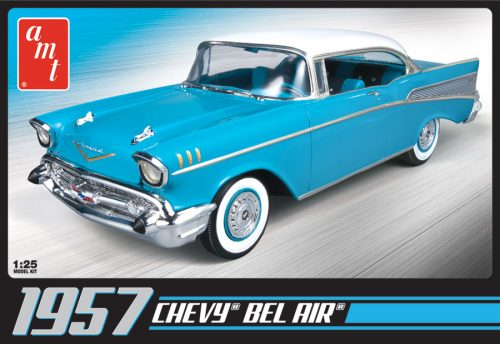 AMT 1957 Chevy Bel Air 1:25 Scale Model Kit