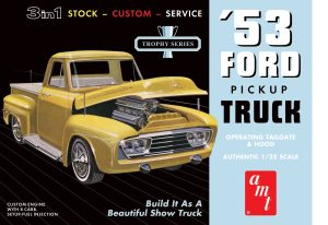 AMT 1953 Ford Pickup 1:25 Scale Model Kit
