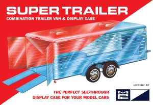 "MPC Super ""Display Case"" Trailer 1:25 Scale"