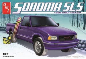 """""""PRE-ORDER"""" AMT 1995 GMC Sonoma Pickup 1:25 Scale Model Kit"""
