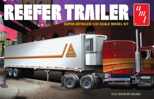 """PRE-ORDER"" AMT Reefer Semi Trailer 1:24 Scale Model Kit"