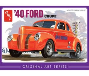 AMT 1940 Ford Coupe Original Art Series 1:25 Scale Model Kit