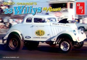 AMT Ohio George 1933 Willys Gasser 1:25 Scale Model Kit