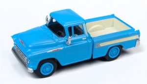 Classic Metal Works 1957 Chevy Cameo Pickup (Alpine Blue) 1:87 HO Scale