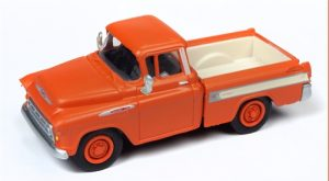 Classic Metal Works 1957 Chevy Cameo Pickup (Omaha Orange) 1:87 HO Scale