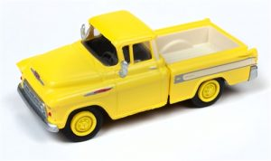 Classic Metal Works 1957 Chevy Cameo Pickup (Golden Yellow) 1:87 HO Scale