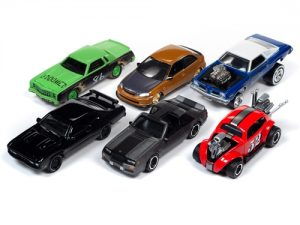 """PRE-ORDER"" Johnny Lightning Street Freaks 2019 Release 3 Set A (6-Car Sealed Case) 1:64 Scale Diecast"