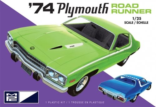 """PRE-ORDER"" MPC 1974 Plymouth Road Runner 1:25 Scale Model Kit"