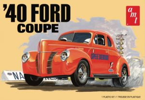 AMT 1940 Ford Coupe 1:25 Scale Model Kit