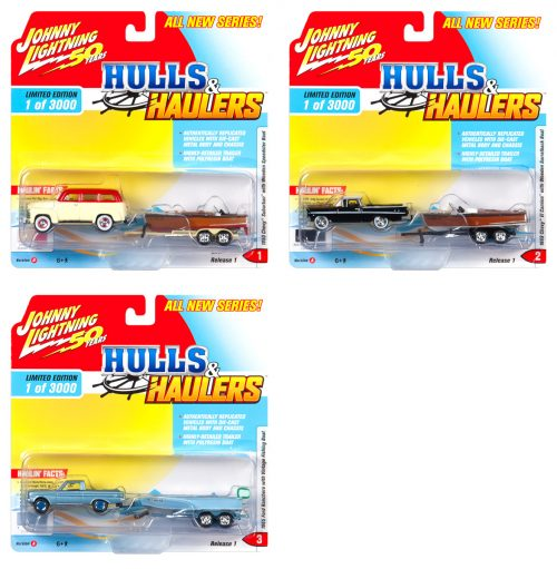 Johnny Lightning Hulls & Haulers 2019 Release 1 - Set A