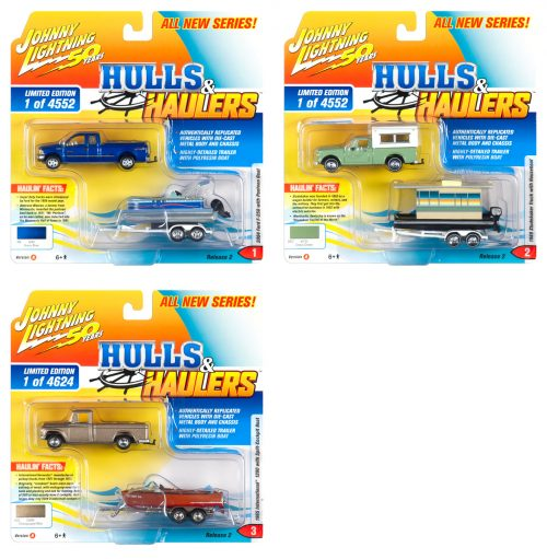 Johnny Lightning Hulls & Haulers 2019 Release 2 - Set A