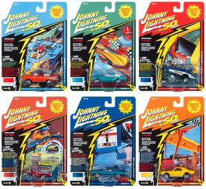 Johnny Lightning Classic Gold 50th Anniv. 2019 Release 2 - Set A