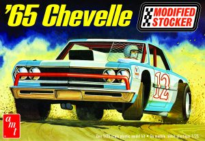 AMT 1965 Chevelle Modified Stocker 1:25 Scale Model Kit