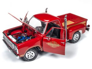 "American Muscle 1978 Dodge Pickup ""L'il Red Express Truck"" 1:18 Scale Diecast"