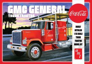 AMT 1976 GMC General Semi Tractor (Coca-Cola) 1:25 Scale Model Kit