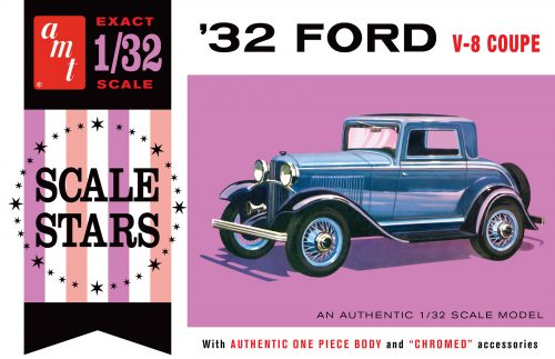 AMT 1932 Ford Scale Stars 1:32 Scale Model Kit