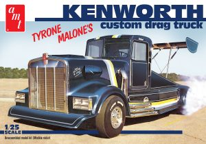 AMT Kenworth Custom Drag Truck (Tyrone Malone) 1:25 Scale Model Kit