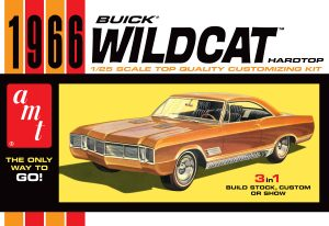 AMT 1966 Buick Wildcat 1:25 Scale Model Kit