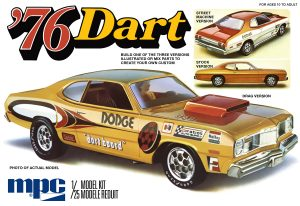 MPC 1976 Dodge Dart Sport 1:25 Scale Model Kit