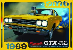AMT 1969 Plymouth GTX Hardtop Pro Street 1:25 Scale Model Kit