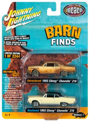 Johnny Lightning Barn Finds 2-Pack 1:64 Scale Diecast