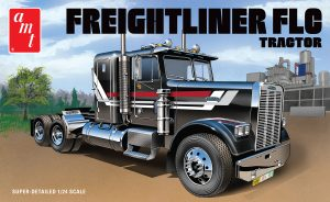 AMT Freightliner FLC Semi Tractor 1:24 Scale Model Kit