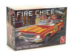 AMT 1970 Chevy Impala Fire Chief 1:25 Scale Model Kit
