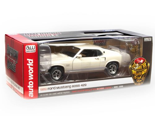 American Muscle 1969 Ford Mustang Fastback Boss 429 1:18 Scale Diecast