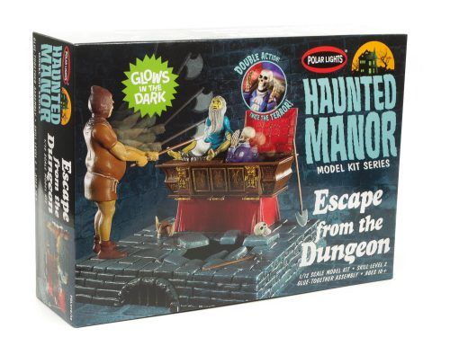 Polar Lights Haunted Manor: Escape from the Dungeon 1:12 Scale Model Kit